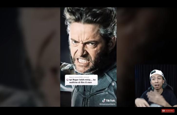 Artis mirip hero Mobile Legends. (youtube/Hi Patrick)