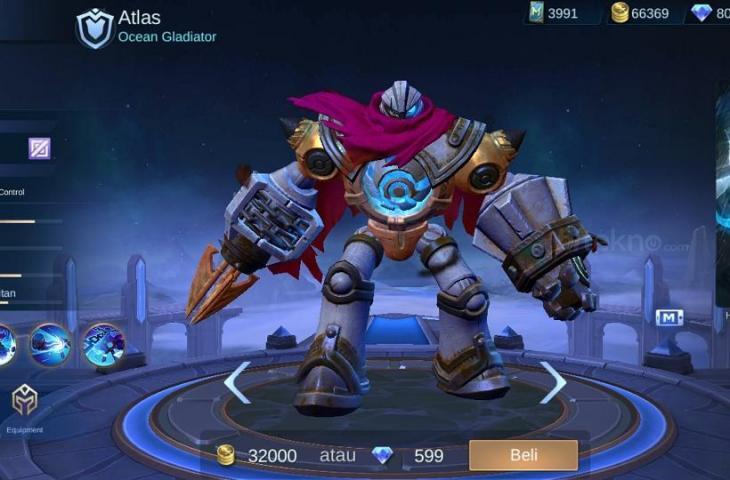 Atlas Mobile Legends. (HiTekno.com)