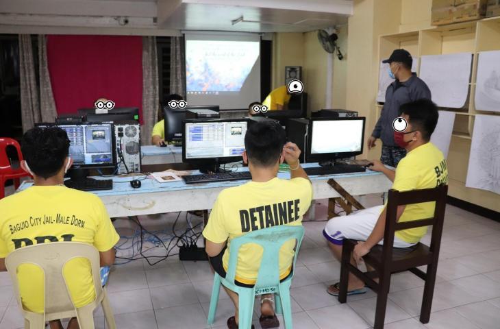 Turnamen Esports di penjara untuk narapidana. (Facebook/ Bjmp Baguio Cj-md)