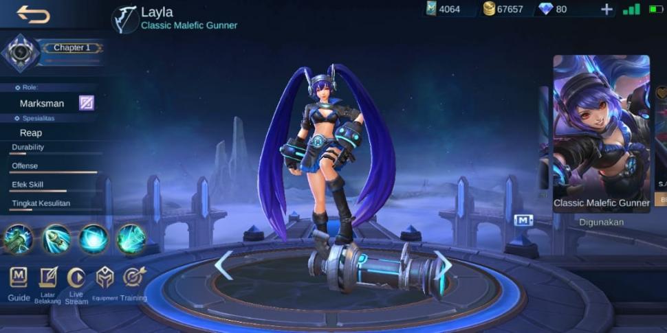 Layla Mobile Legends. (HiTekno)