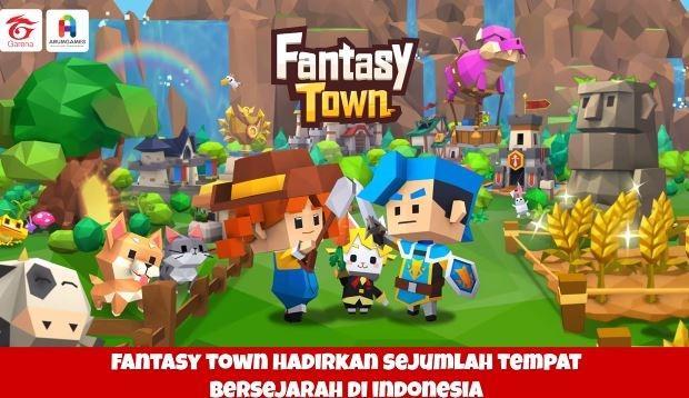 Fantasy Town. (Zoom Conference Garena)