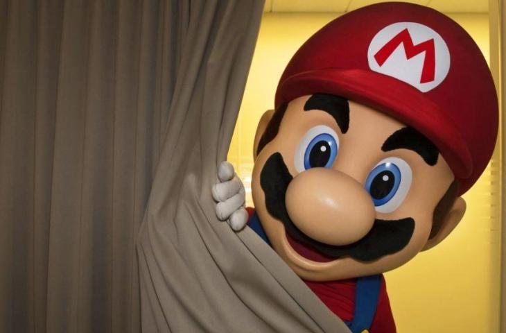 Karakter Mario di Nintendo Switch. (Nintendo)