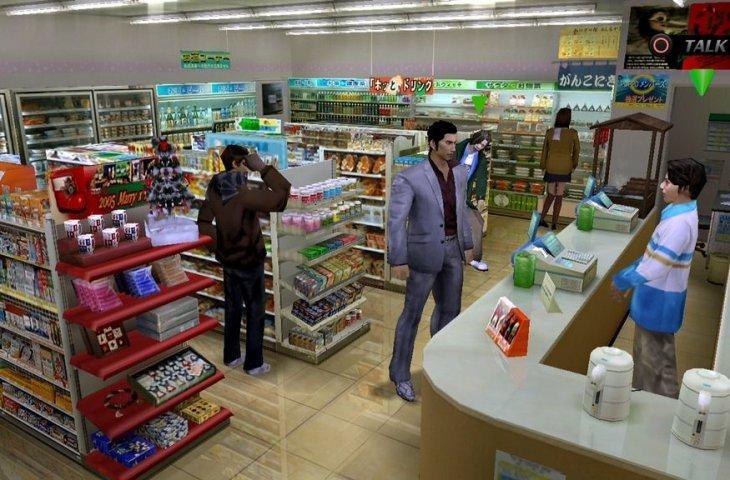 Mini market di game Yakuza 6. (Fiveprime)
