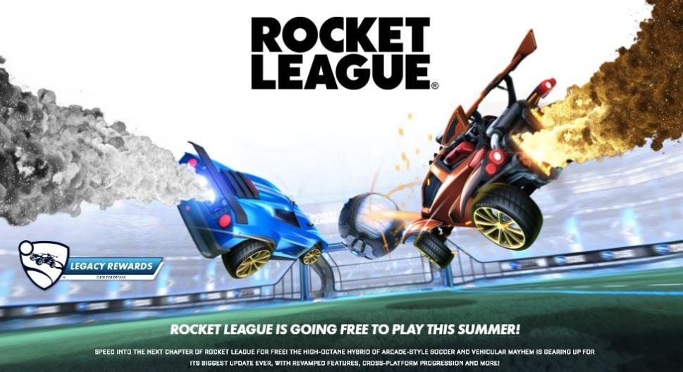 Pengumuman Rocket League jadi game free-to-play. (Rocket League)
