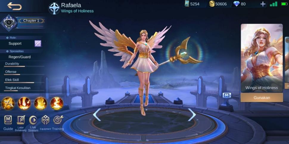 Rafaela Mobile Legends. (HiTekno.com)