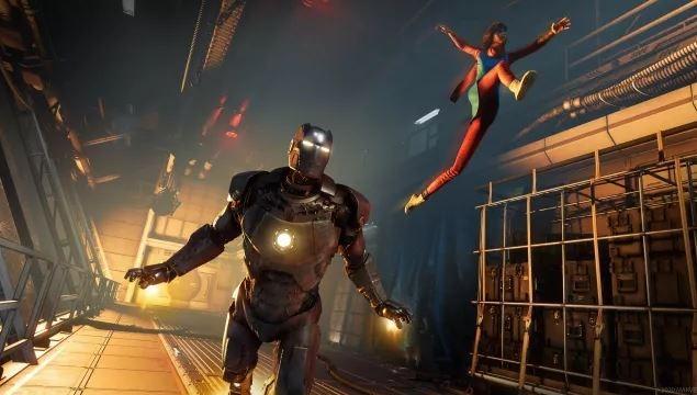 Ilustrasi hero pada game Marvel's Avengers. (Square Enix)