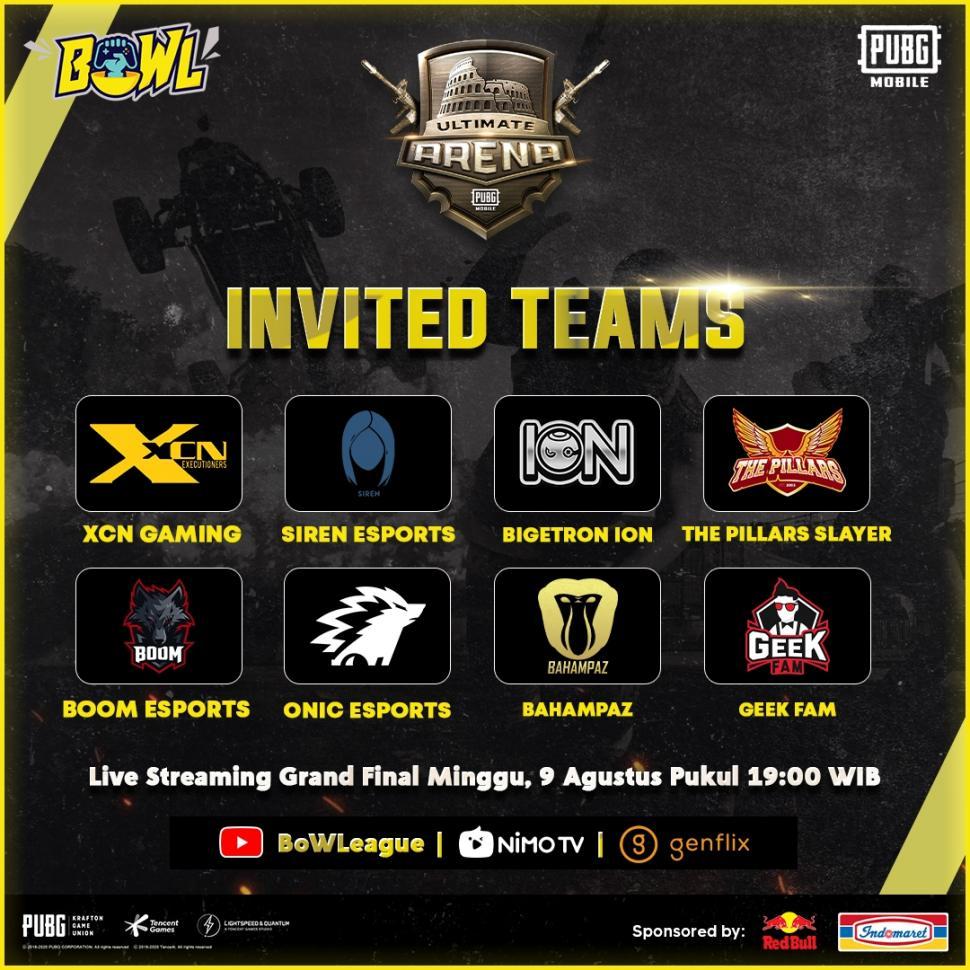 Ultimate Arena PUBG Mobile Online. (BoWL)