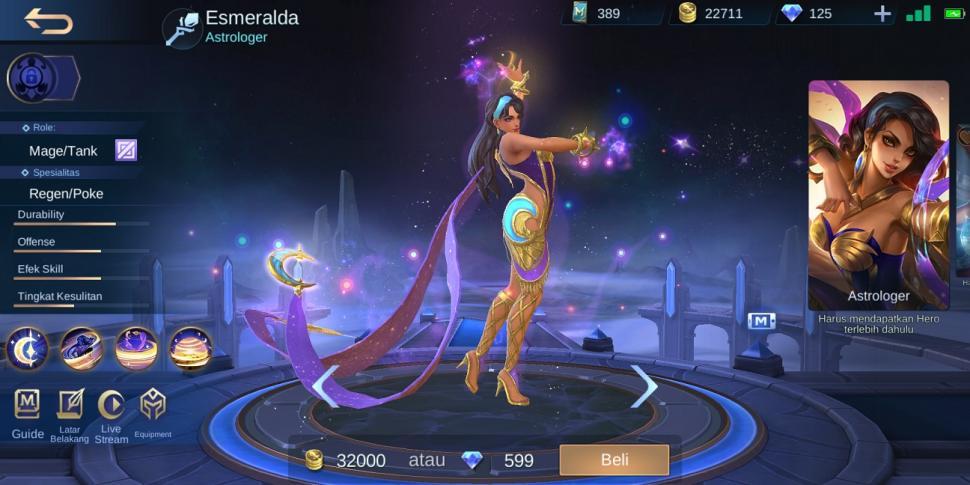 Ilustrasi hero Mobile Legends. (HiTekno.com)
