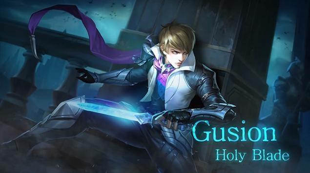 Gusion, Hero Mobile Legends. (Moonton)