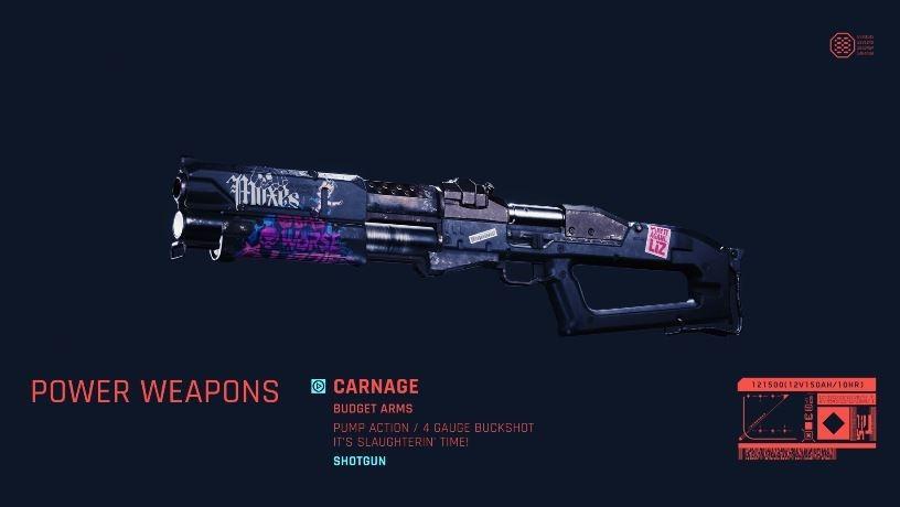 Senjata di Cyberpunk 2077. (YouTube/ Cyberpunk 2077)