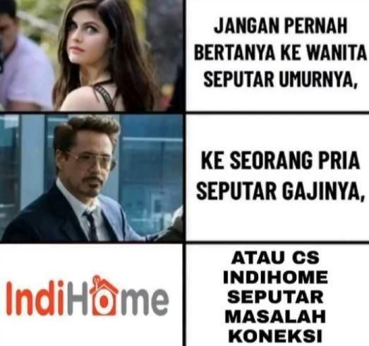 Meme Indihome. (Reddit)