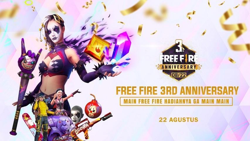 Free Fire Tourniversary. (dok. Garena)