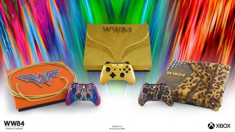 Xbox edisi Wonder Woman. (Microsoft)