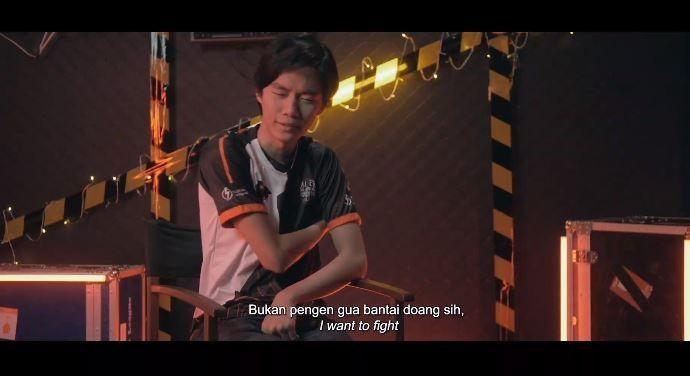 Psywar Udil saat dirinya ingin mengalahkan RRQ. (YouTube/ MPL Indonesia)