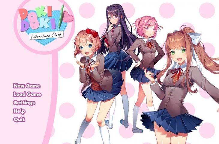 Doki Doki Literature Club. (Team Salvato)