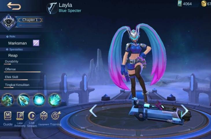 Layla Mobile Legends. (HiTekno.com)