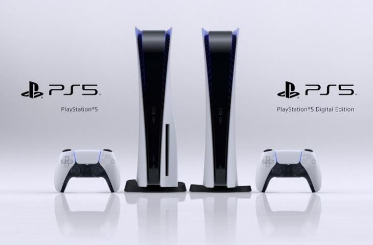 Dua versi PlayStation 5 atau PS5. (PlayStation)