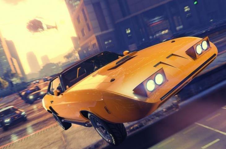 Mobil pada GTA Online. (Rockstar Games)