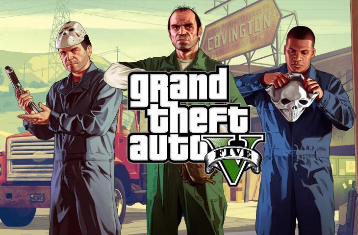 Grand Theft Auto V (GTA V). (Rockstargames).
