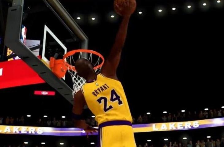 Black Mamba atau Kobe Bryant akan menjadi karakter legendaris di game NBA 2K21. (YouTube/ 2K United Kingdoms)