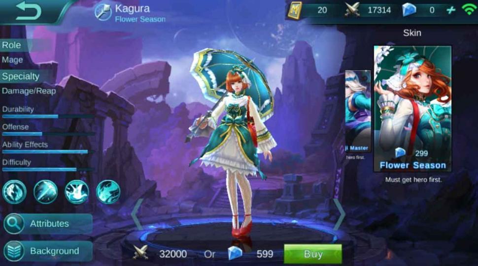 Kagura Mobile Legends. (HiTekno)