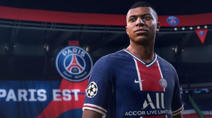 Tampilan game FIFA 21. (YouTube/ EA SPORTS FIFA)