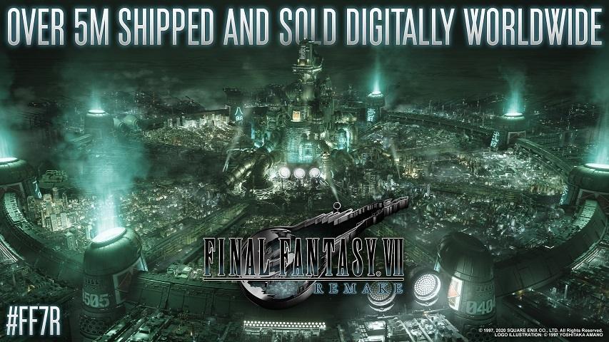 Final Fantasy VII Remake terjual 5 juta copy. (Square Enix)