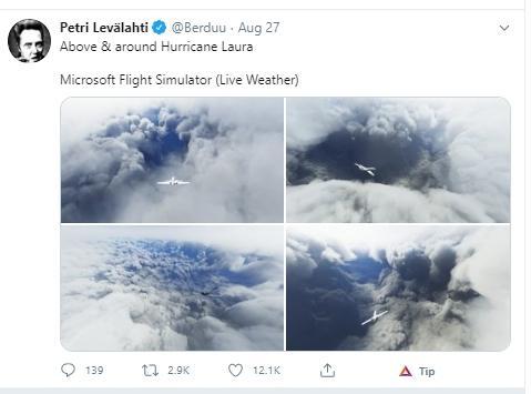Microsoft Flight Simulator. (Twitter/@Berduu)