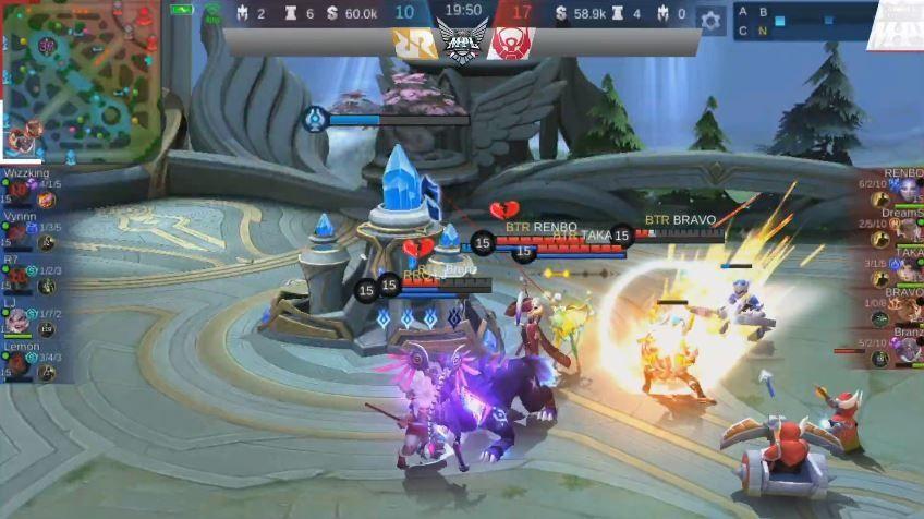 Game pertama Bigetron Alpha vs RRQ dimenangkan oleh BTR dengan skor Kill 17 vs 10. (YouTube/ MPL Indonesia)