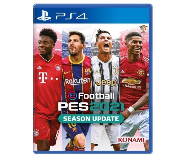 Cover PES 2021. (Konami)