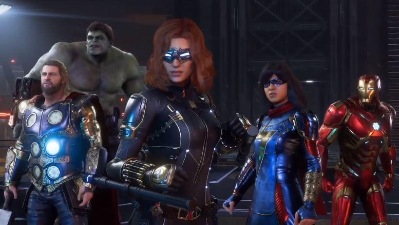 Ilustrasi sinematic hero pada game Marvel's Avengers. (YouTube/ MKIceAndFire)