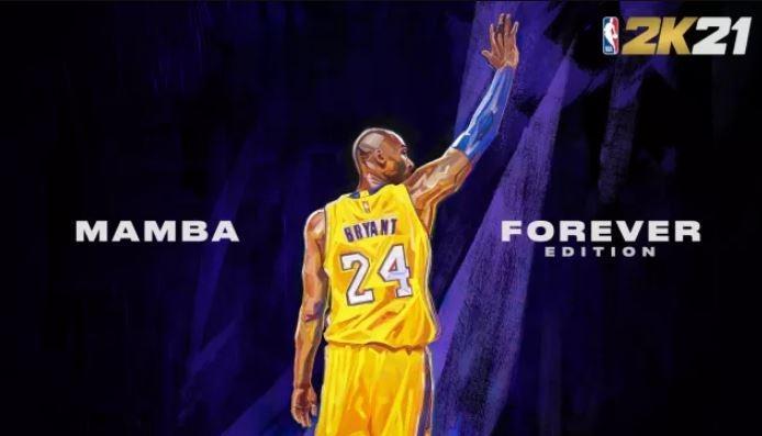 Cover dari edisi spesial Mamba Forever Edition untuk menghormati sang legenda NBA, Kobe Bryant. (2K Sports)