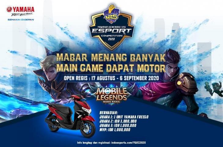 Yamaha Gelar Turnamen Mobile Legends, Berhadiah Motor! (Yamaha)
