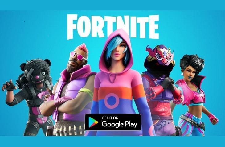 Game Fortnite di Play Store. (Play Store)