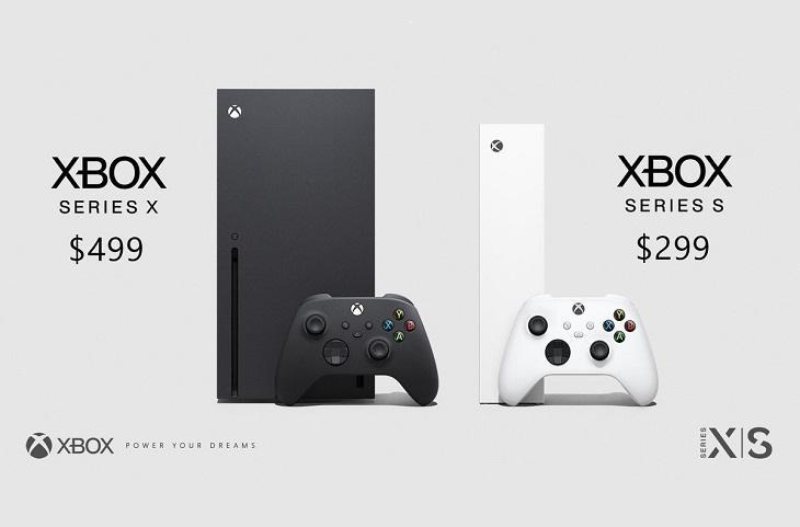 Harga Xbox Series X dan Xbox Series S. (Microsoft)