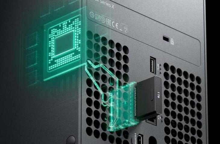 Storage ekspansi Xbox Series X. (Microsoft)