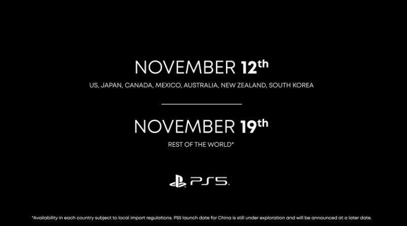 Jadwal peluncuran PS5. (Blog.playstation.com)