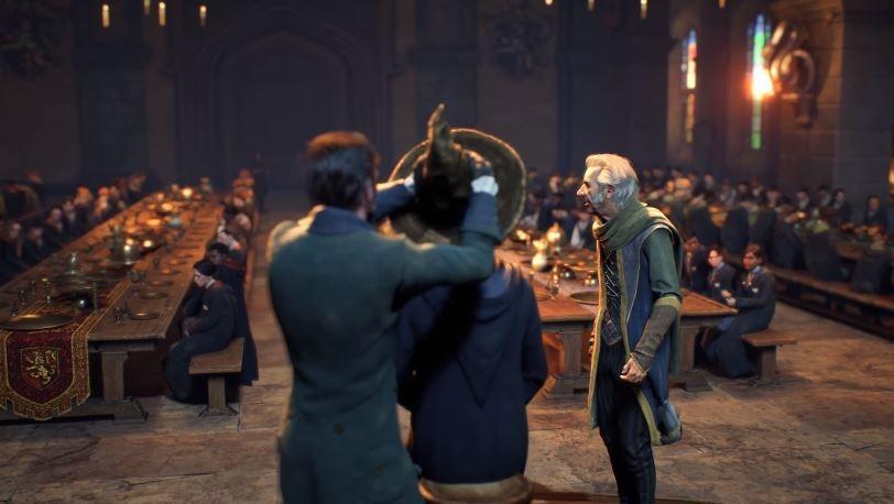 Salah satu adegan di game bertema Harry Potter, Hogwarts Legacy. (YouTube/ PlayStation)