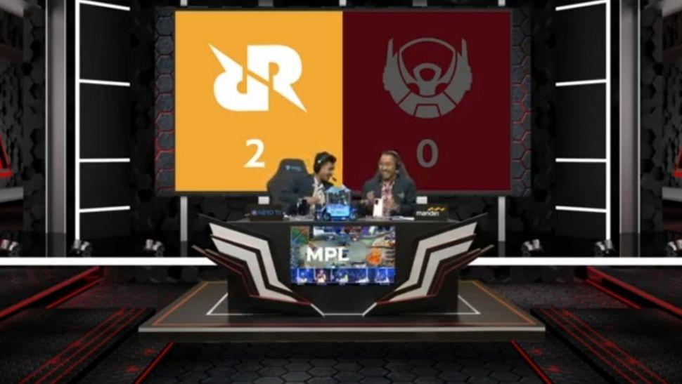 RRQ Hoshi vs Bigetron Alpha. (MPL Indonesia)