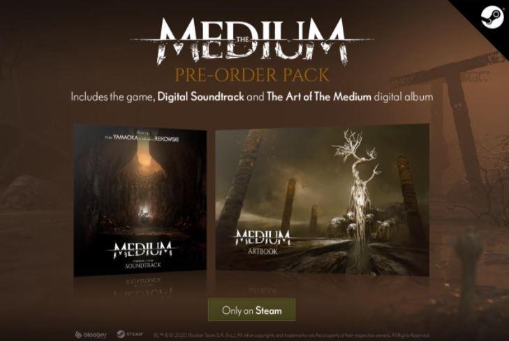 Bonus pre-order The Medium di Steam. (Steam)