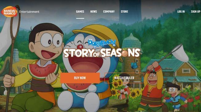 Doraemon: Story of Seasons. [Bandai Namco]