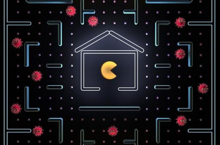 Ilustrasi Pac-Man. (Unspalash/United Nation)