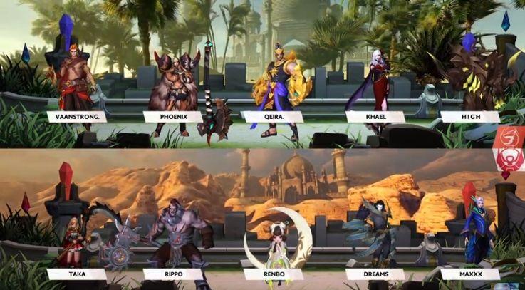 Aura Fire vs Bigetron Alpha. (MPL Indonesia)