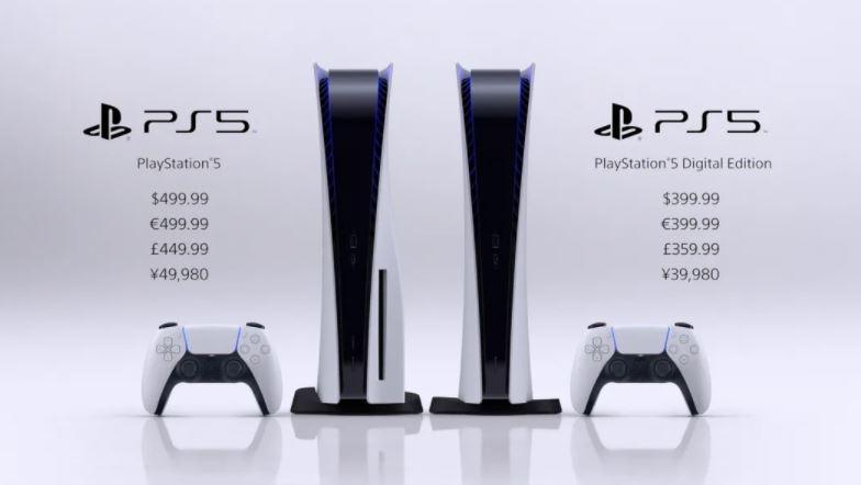 Banderol harga PS5. (Blog.playstation.com)