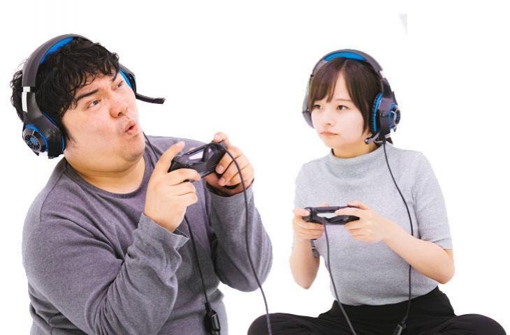 Ilustrasi gamer PlayStation 4. (Pakutaso)