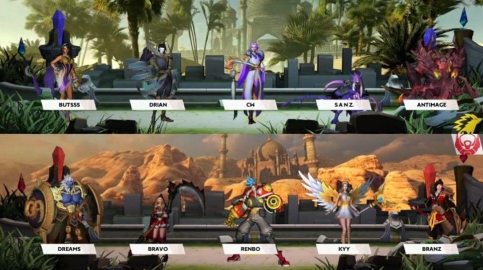 Bigetron Alpha vs ONIC. (MPL Indonesia)