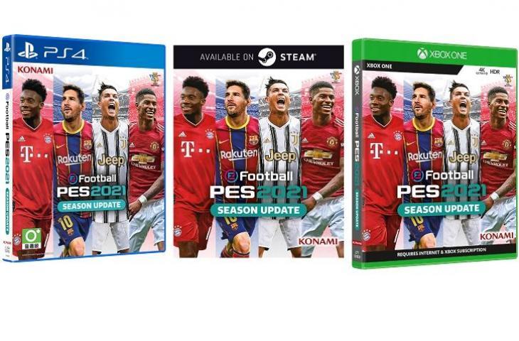 eFootball PES 2021 Season Update. (Konami)