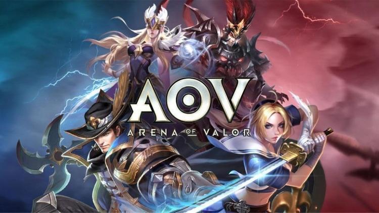 Arena of Valor atau AOV. (Arena of Valor)