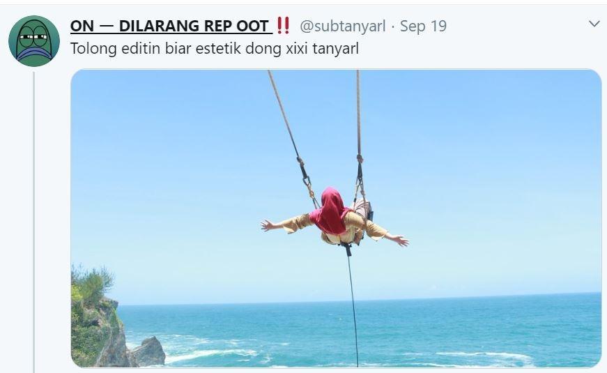 Minta Edit Foto, hasil yang diberikan Netizen Indonesia di luar dugaan. (Twiiter/ subtanyarl)