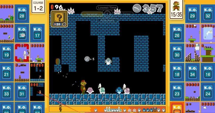 Super Mario Bros 35 menawarkan genre Battle Royale. (Nintendo)